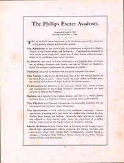 Page 3, 1910 Edition, Phillips Exeter Academy - PEAN Yearbook (Exeter, NH) online yearbook collection