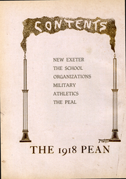 Page 12, 1918 Edition, Phillips Exeter Academy - PEAN Yearbook (Exeter, NH) online yearbook collection