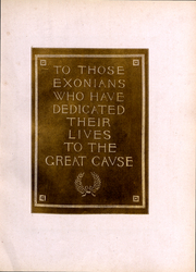 Page 9, 1918 Edition, Phillips Exeter Academy - PEAN Yearbook (Exeter, NH) online yearbook collection