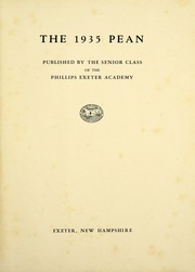 Page 9, 1935 Edition, Phillips Exeter Academy - PEAN Yearbook (Exeter, NH) online yearbook collection