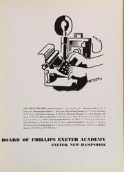Page 7, 1943 Edition, Phillips Exeter Academy - PEAN Yearbook (Exeter, NH) online yearbook collection