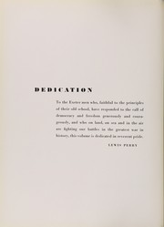 Page 8, 1943 Edition, Phillips Exeter Academy - PEAN Yearbook (Exeter, NH) online yearbook collection