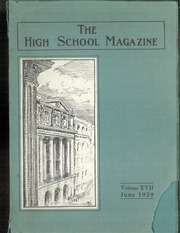 Page 1, 1929 Edition, Montreal High School - Magazine Yearbook (Montreal, Quebec Canada) online yearbook collection