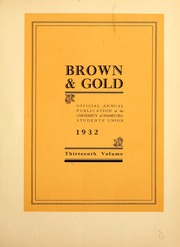 Page 7, 1932 Edition, University of Manitoba - Brown and Gold Yearbook (Winnipeg, Manitoba Canada) online yearbook collection
