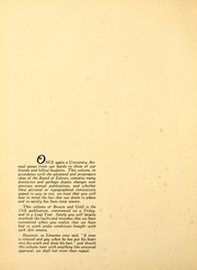 Page 8, 1932 Edition, University of Manitoba - Brown and Gold Yearbook (Winnipeg, Manitoba Canada) online yearbook collection