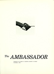 Page 5, 1962 Edition, Assumption University - Ambassador Yearbook (Windsor, Ontario Canada) online yearbook collection