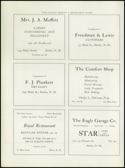 Page 10, 1925 Edition, Berlin High School - Meteor Yearbook (Berlin, NH) online yearbook collection