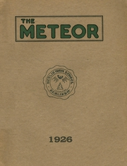 Page 1, 1926 Edition, Berlin High School - Meteor Yearbook (Berlin, NH) online yearbook collection
