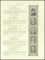 Page 11, 1926 Edition, Berlin High School - Meteor Yearbook (Berlin, NH) online yearbook collection