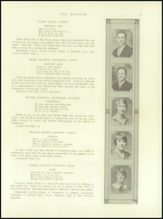 Page 9, 1926 Edition, Berlin High School - Meteor Yearbook (Berlin, NH) online yearbook collection
