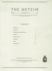 Page 3, 1942 Edition, Berlin High School - Meteor Yearbook (Berlin, NH) online yearbook collection