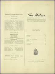 Page 3, 1947 Edition, Berlin High School - Meteor Yearbook (Berlin, NH) online yearbook collection