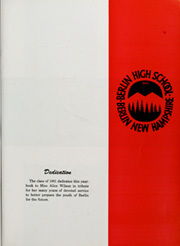 Page 7, 1961 Edition, Berlin High School - Meteor Yearbook (Berlin, NH) online yearbook collection