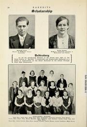 Page 16, 1932 Edition, Burlington High School - Rarebits Yearbook (Burlington, Ontario Canada) online yearbook collection