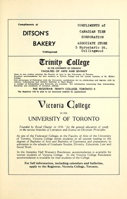 Page 13, 1955 Edition, Collingwood District Collegiate Institute - Gleaner Yearbook (Collingwood, Ontario Canada) online yearbook collection
