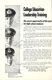Page 6, 1955 Edition, Collingwood District Collegiate Institute - Gleaner Yearbook (Collingwood, Ontario Canada) online yearbook collection