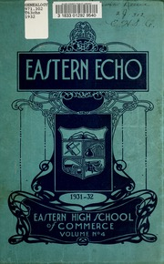 Page 5, 1932 Edition, Eastern High School of Commerce - Eastern Echo Yearbook (Toronto, Ontario Canada) online yearbook collection