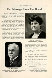 Page 15, 1926 Edition, Guelph Collegiate Vocational Institute - Acta Nostra Yearbook (Guelph, Ontario Canada) online yearbook collection