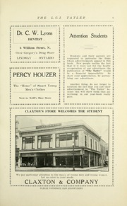 Page 11, 1931 Edition, Lindsay Collegiate and Vocational Institute - Tatler Yearbook (Lindsay, Ontario Canada) online yearbook collection