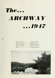 Page 5, 1947 Edition, London College of Bible and Missions - Archway Yearbook (London, Ontario Canada) online yearbook collection