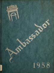 1958 Edition, London College of Bible and Missions - Archway Yearbook (London, Ontario Canada)