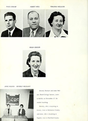 Page 16, 1959 Edition, Middletown High School - Chestnut Burr Yearbook (Middletown, MD) online yearbook collection