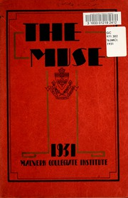 Page 5, 1931 Edition, Malvern Collegiate Institute - Muse Yearbook (Toronto, Ontario Canada) online yearbook collection