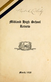 Page 5, 1928 Edition, Midland Secondary School - Yearbook (Midland, Ontario Canada) online yearbook collection