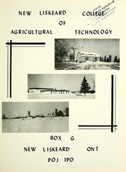 Page 9, 1978 Edition, New Liskeard College of Agricultural Technology - Aggies Yearbook (New Liskeard, Ontario Canada) online yearbook collection