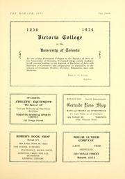 Page 13, 1934 Edition, North Toronto Collegiate Institute - Howler Yearbook (Toronto, Ontario Canada) online yearbook collection