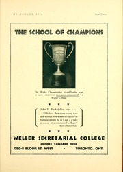 Page 9, 1934 Edition, North Toronto Collegiate Institute - Howler Yearbook (Toronto, Ontario Canada) online yearbook collection
