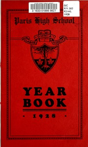 Page 5, 1928 Edition, Paris District High School - Yearbook (Paris, Ontario Canada) online yearbook collection