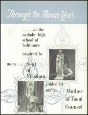 Page 5, 1954 Edition, Catholic High School of Baltimore - Troubadour Yearbook (Baltimore, MD) online yearbook collection