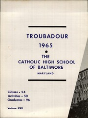 Page 6, 1965 Edition, Catholic High School of Baltimore - Troubadour Yearbook (Baltimore, MD) online yearbook collection