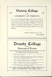 Page 10, 1935 Edition, Peterborough Collegiate and Vocational School - Echoes Yearbook (Peterborough, Ontario Canada) online yearbook collection