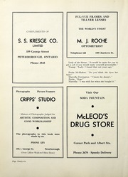 Page 102, 1938 Edition, Peterborough Collegiate and Vocational School - Echoes Yearbook (Peterborough, Ontario Canada) online yearbook collection