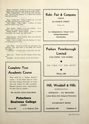 Page 103, 1938 Edition, Peterborough Collegiate and Vocational School - Echoes Yearbook (Peterborough, Ontario Canada) online yearbook collection
