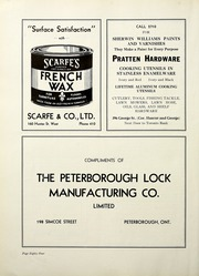 Page 90, 1938 Edition, Peterborough Collegiate and Vocational School - Echoes Yearbook (Peterborough, Ontario Canada) online yearbook collection