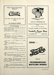 Page 93, 1938 Edition, Peterborough Collegiate and Vocational School - Echoes Yearbook (Peterborough, Ontario Canada) online yearbook collection