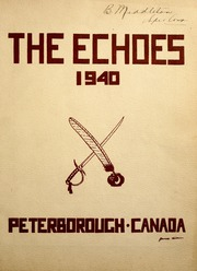 Page 5, 1940 Edition, Peterborough Collegiate and Vocational School - Echoes Yearbook (Peterborough, Ontario Canada) online yearbook collection