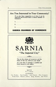 Page 8, 1946 Edition, Sarnia Collegiate Institute and Technical School - Collegiate Yearbook (Sarnia, Ontario Canada) online yearbook collection