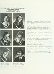 Page 15, 1976 Edition, Tyndale University College and Seminary - Yearbook (Toronto, Ontario Canada) online yearbook collection