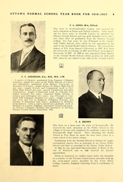 Page 15, 1917 Edition, University of Ottawa - Annuaire Yearbook (Ottawa, Ontario Canada) online yearbook collection