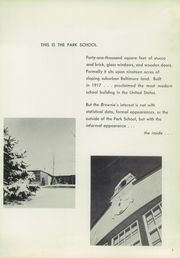 Page 7, 1956 Edition, Park School of Baltimore - Brownie Yearbook (Baltimore, MD) online yearbook collection