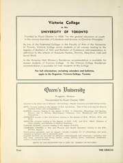 Page 10, 1952 Edition, Woodstock Collegiate Institute - Oracle Yearbook (Woodstock, Ontario Canada) online yearbook collection