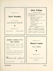 Page 17, 1952 Edition, Woodstock Collegiate Institute - Oracle Yearbook (Woodstock, Ontario Canada) online yearbook collection