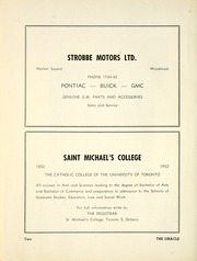 Page 8, 1952 Edition, Woodstock Collegiate Institute - Oracle Yearbook (Woodstock, Ontario Canada) online yearbook collection