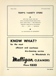 Page 10, 1953 Edition, Woodstock Collegiate Institute - Oracle Yearbook (Woodstock, Ontario Canada) online yearbook collection