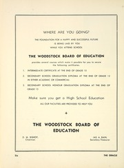 Page 12, 1953 Edition, Woodstock Collegiate Institute - Oracle Yearbook (Woodstock, Ontario Canada) online yearbook collection