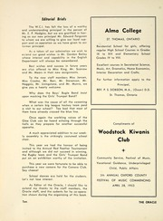 Page 16, 1953 Edition, Woodstock Collegiate Institute - Oracle Yearbook (Woodstock, Ontario Canada) online yearbook collection